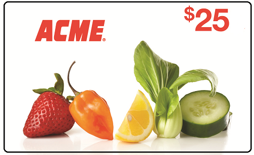 Enter the Acme Markets Gift Card Giveaway. Ends 9/13