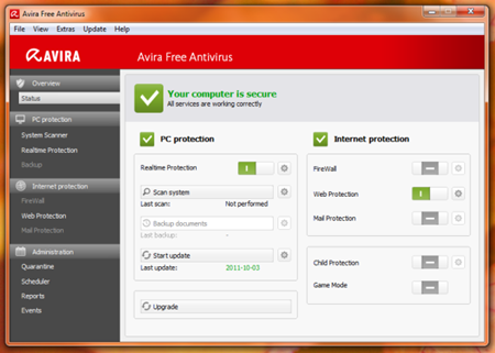 Antivirus Terbaik Avira