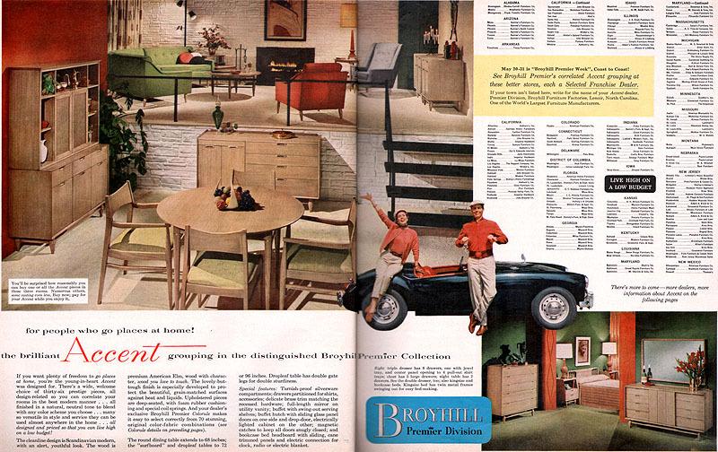 Good Vintage Broyhill Premier Furniture Brochure