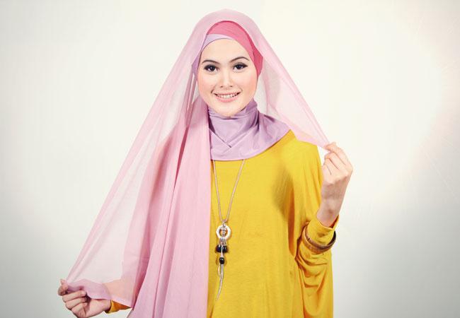 Cara Memakai Jilbab Segi Empat Kreasi yang Cantik « Terbaru 2014 ...