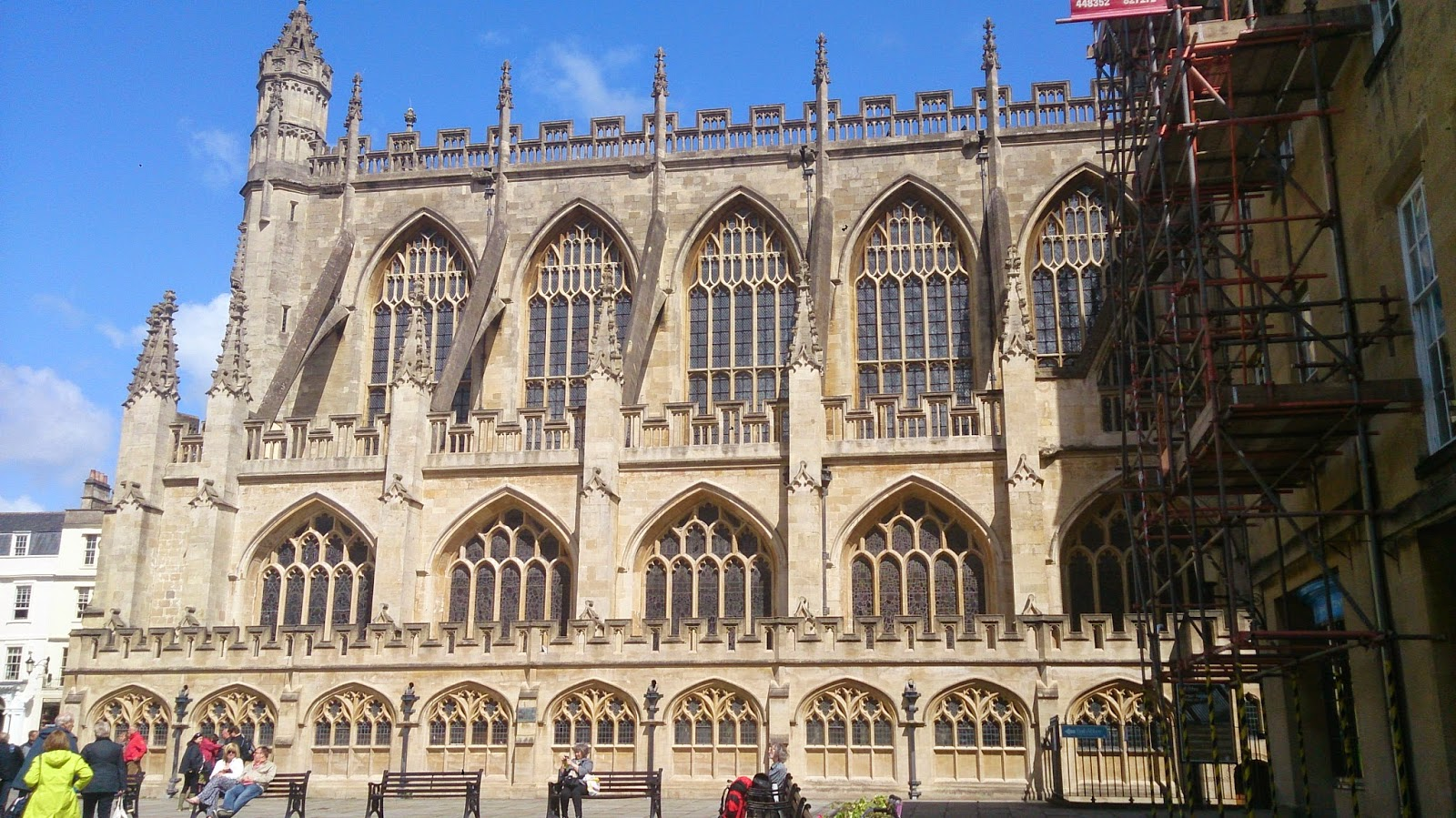 英國 單車 足球 聚舊之旅 Bath 大教堂