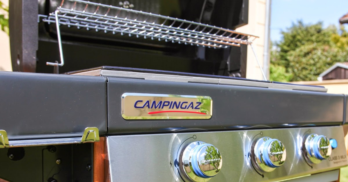 j 39 ai test le barbecue gaz campingaz class 3 wxl parmesan et paprika. Black Bedroom Furniture Sets. Home Design Ideas