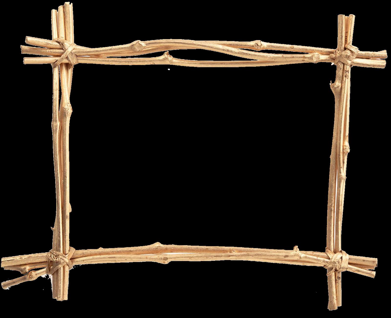 Marcos gratis para copiar y descargar cuadro de palos - Marcos fotos madera ...