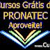 Cursos Grátis do PRONATEC - Aproveite!