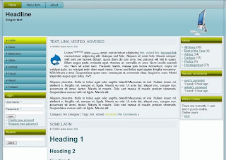 drupal 7 theme for tech related website
