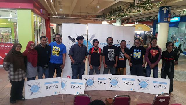 Keputusan Cabaran Komik Online Malaysia 2015