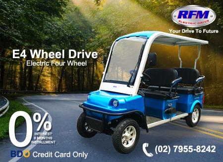 RFM Featuring E4 Wheel Drive
