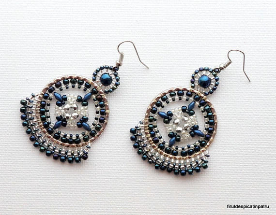 Beautiful Cosmos Earrings