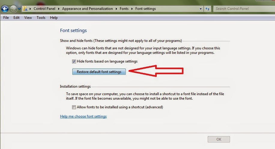 tutorial fix icon browser yang rusak