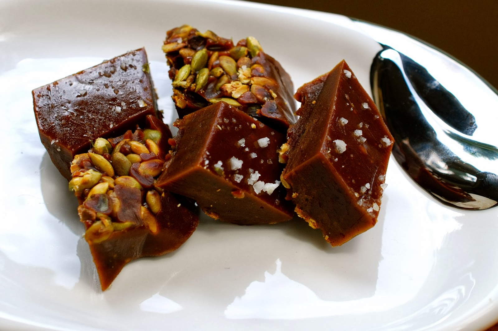 Cooking with Larue: Salted Pumpkin Caramels with Pepitas