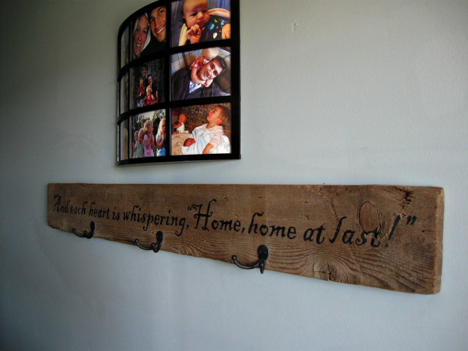 The rehomesteaders diy barnwood welcome sign for Barnwood sign ideas