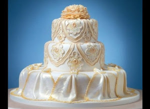 Romantic Wedding Cake Elegant Romance