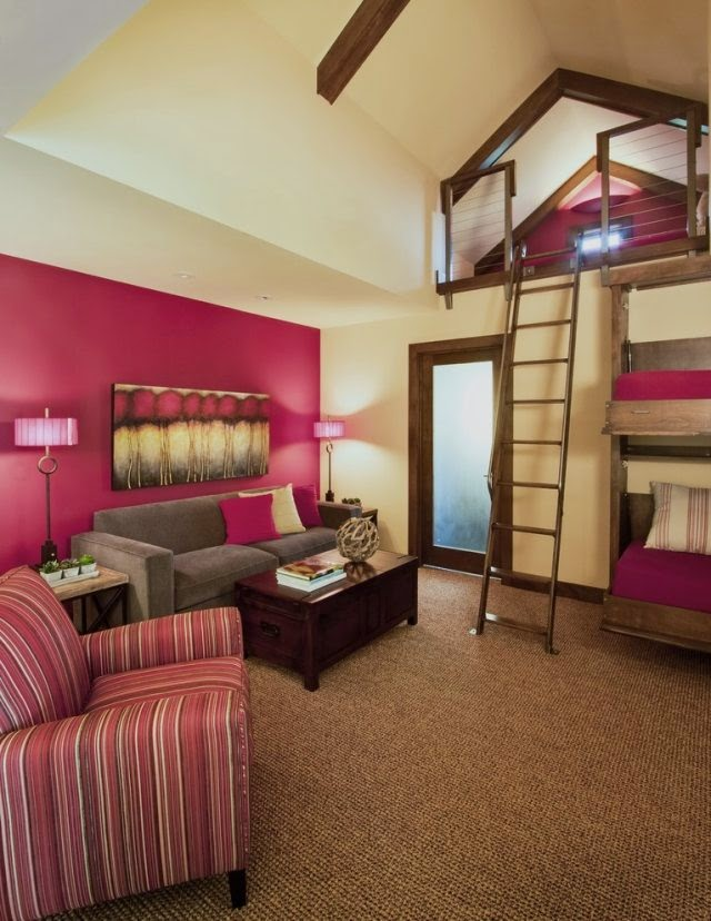 loft beds for adults good idea for small apartment bedroom design. Black Bedroom Furniture Sets. Home Design Ideas