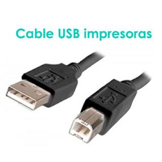 cable impresora
