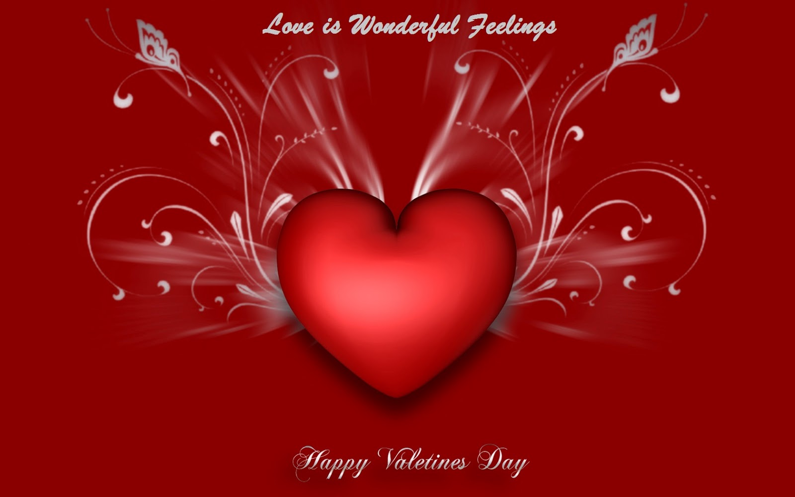 Free Beautiful Love Heart For Valentines Day Sms Messages Chaska