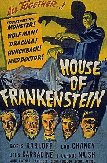 House of Frankenstein movie