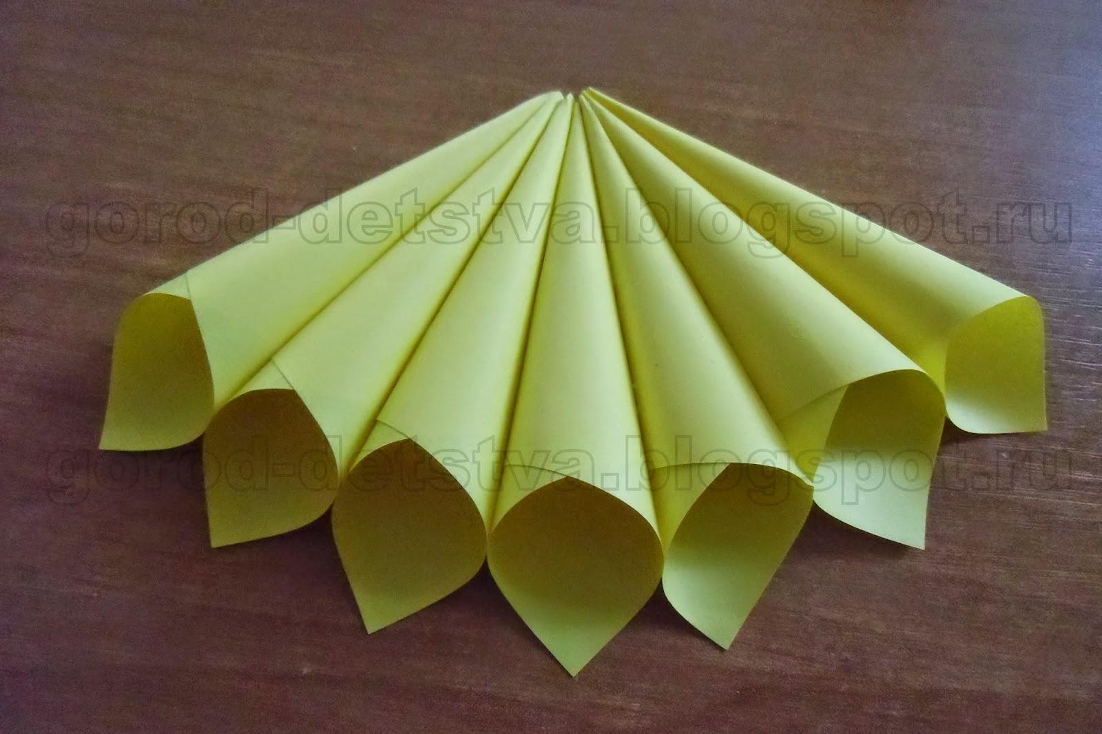 Как сделать кулёк из бумаги для крема