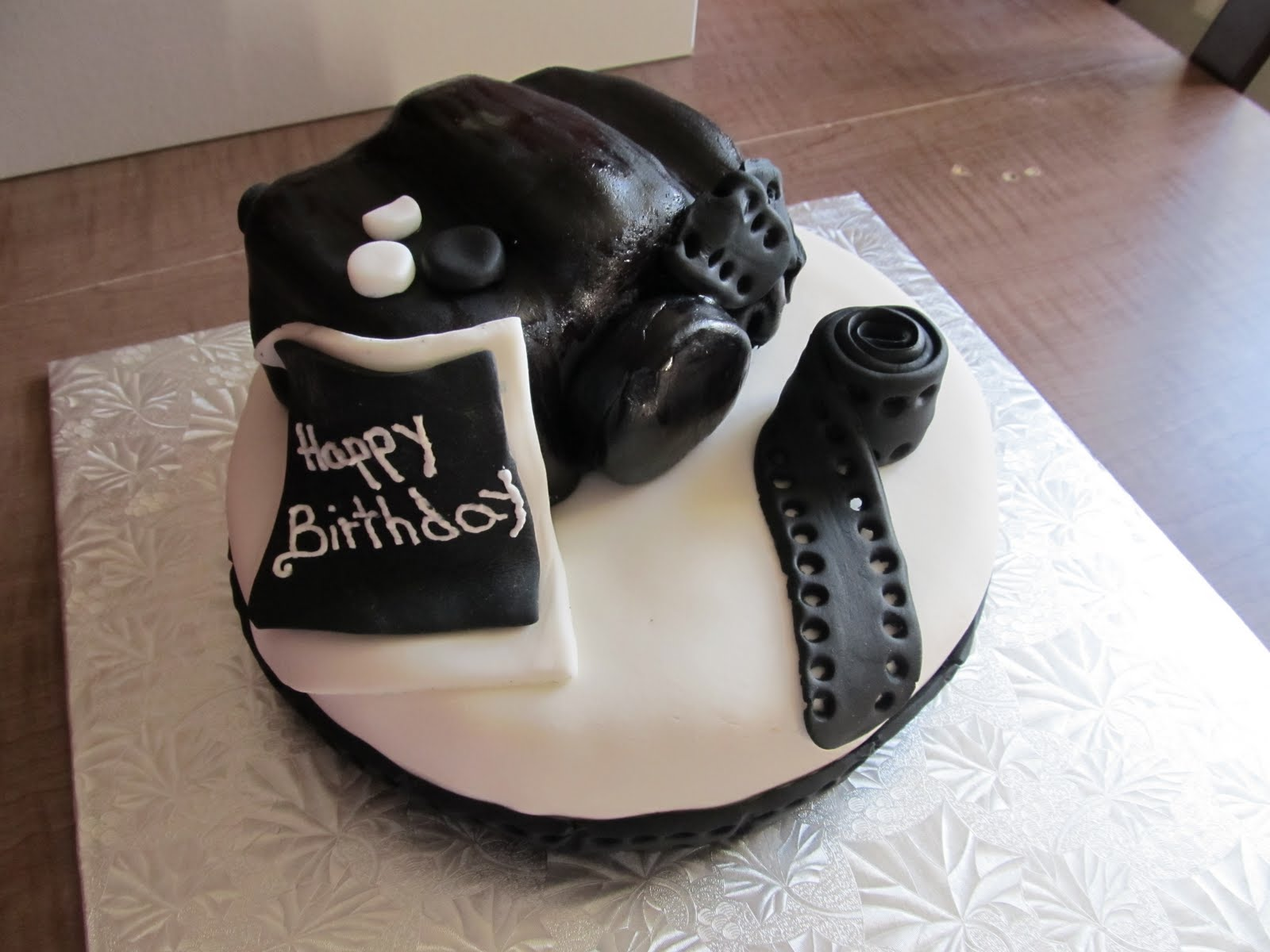 3D Camera Cake!
