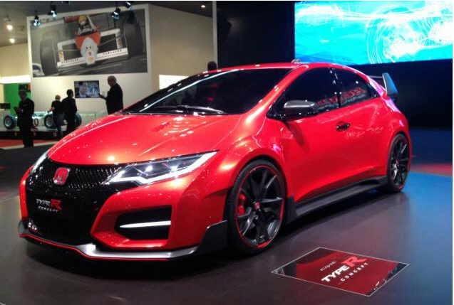 Gambar Mobil Honda Civic Type R terbaru