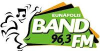 ouvir a Rádio Band FM 96,3 Eunápolis BA