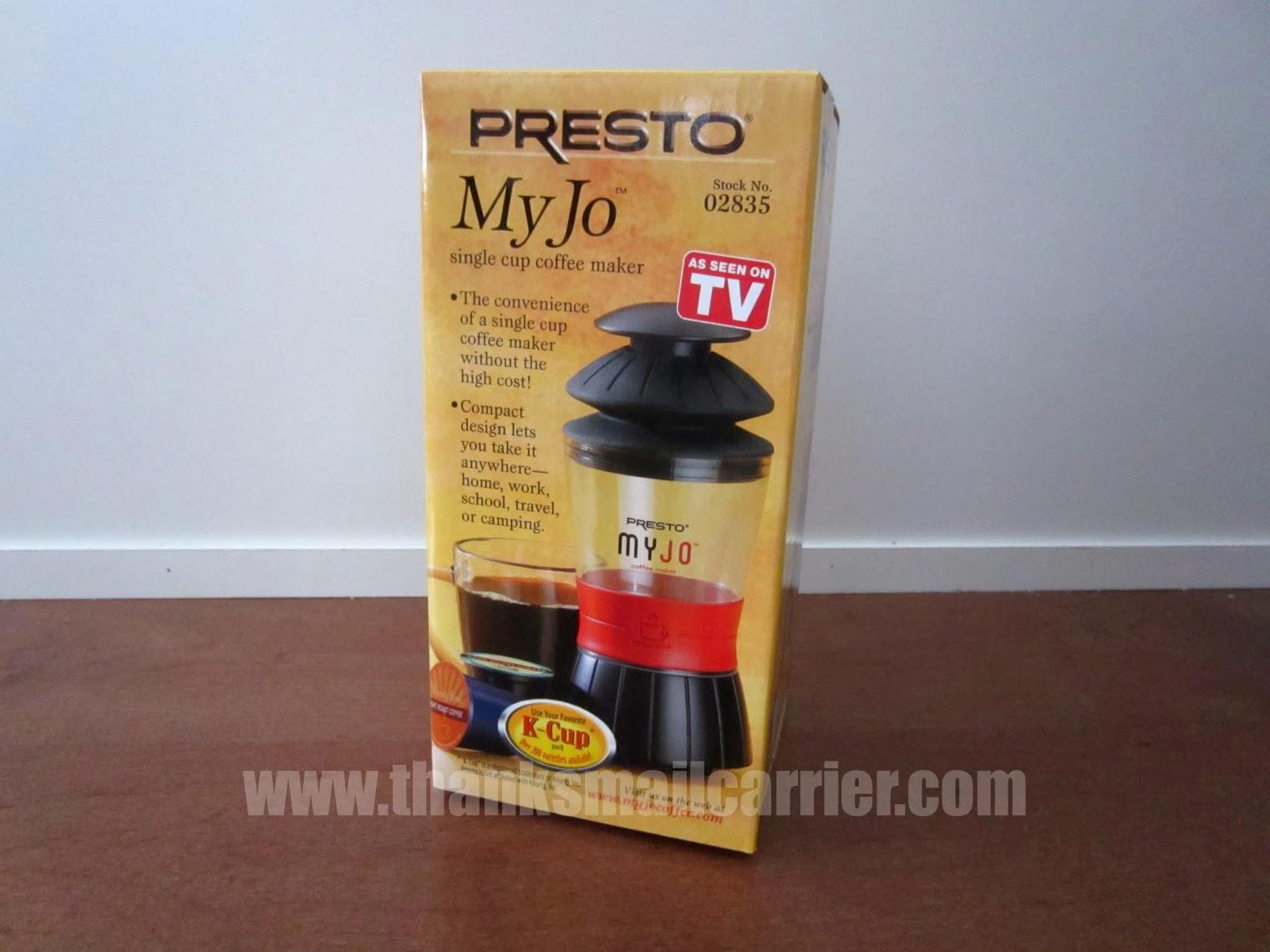 presto myjo coffee - Single Cup Coffee Maker Reviews