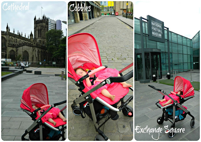 The Origami Rose Maxi-Cosi Loola in City-Centre Manchester