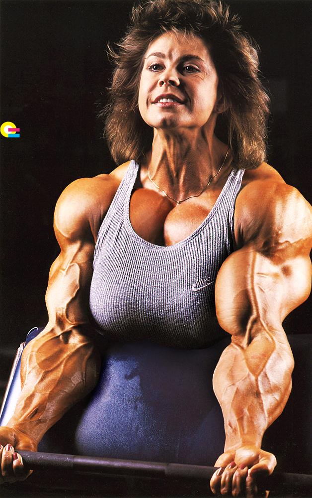 Monique Hayes - massive muscle woman | Morphed Female ...