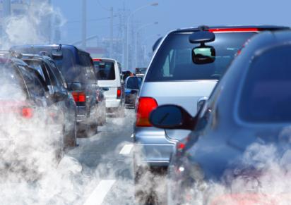 Traffic pollution