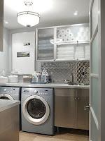 cómo decorar la lavandería