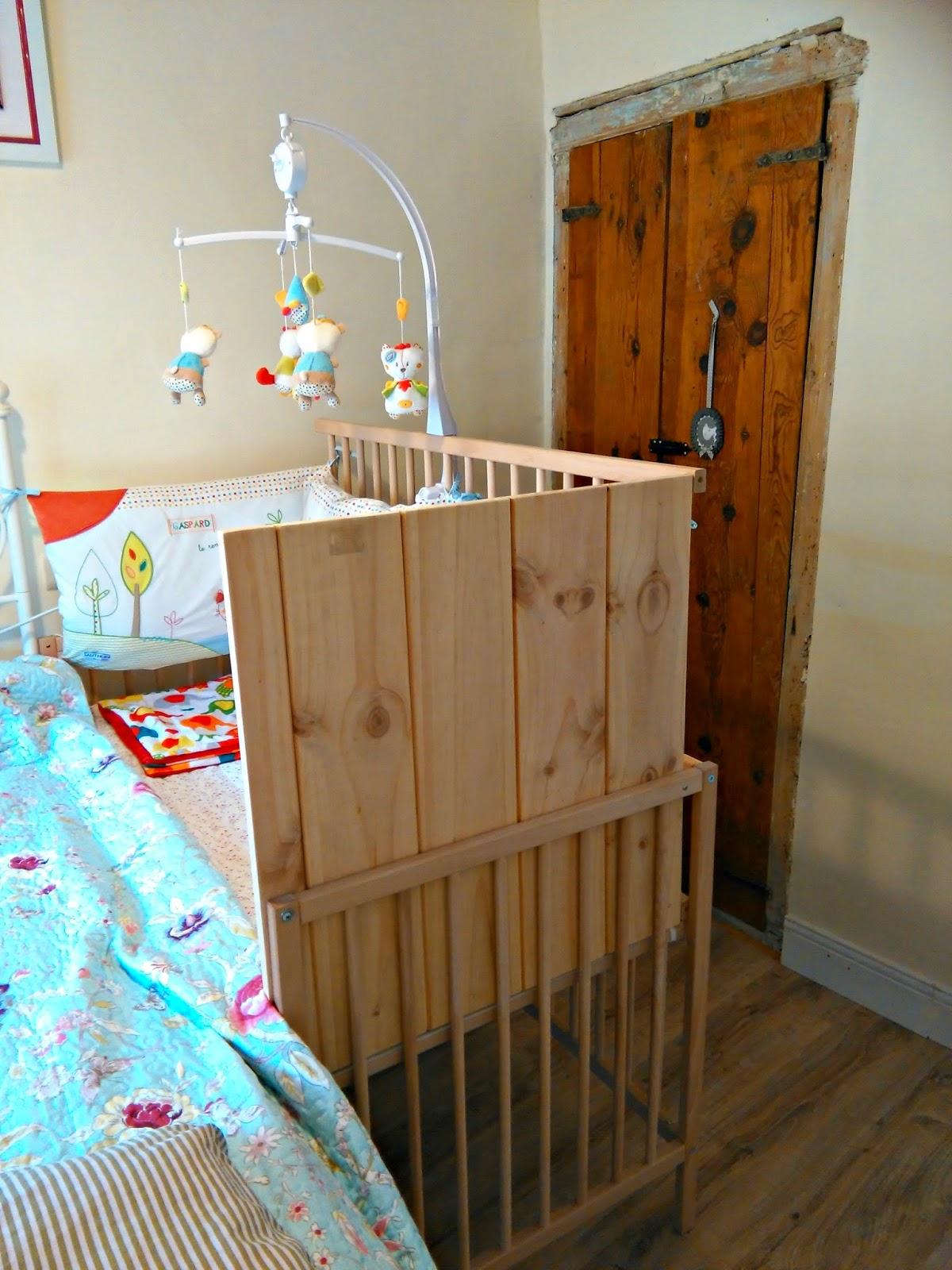 Rural Baby Project: Cuna de Ikea SNIGLAR colecho DIY & adaptación ...