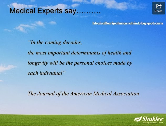 health and longevity is a personal choices