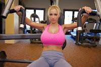 Jordan Carver workout