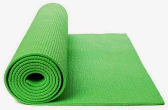 Buy Relax Fitness Exercise & Gym Green 6 mm Mat at Rs.440 +5% off : Buy To Earn