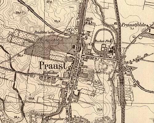 stary pruszcz: czytanie mapy czyli messtischblätter 1:25 000, Esstisch ideennn