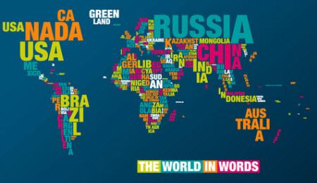 El mundo en palabras