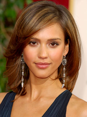 I'm playing...but here's Jessica Alba not to thick nor to thin!