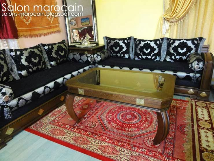 Janvier 2014 salon marocain moderne 2014 - Table de salon marocain ...
