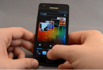 [Noticia] Samsung Galaxy S II começa a receber o Ice Cream Sandwich