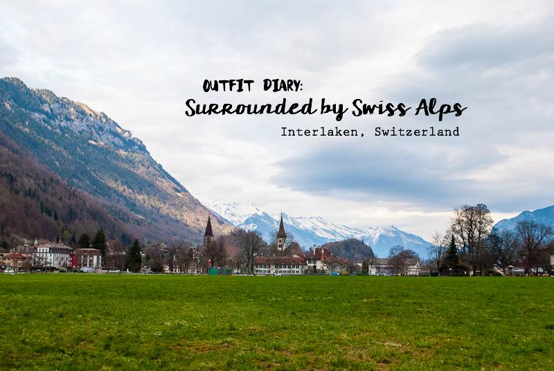 Images of the scenery in interlaken