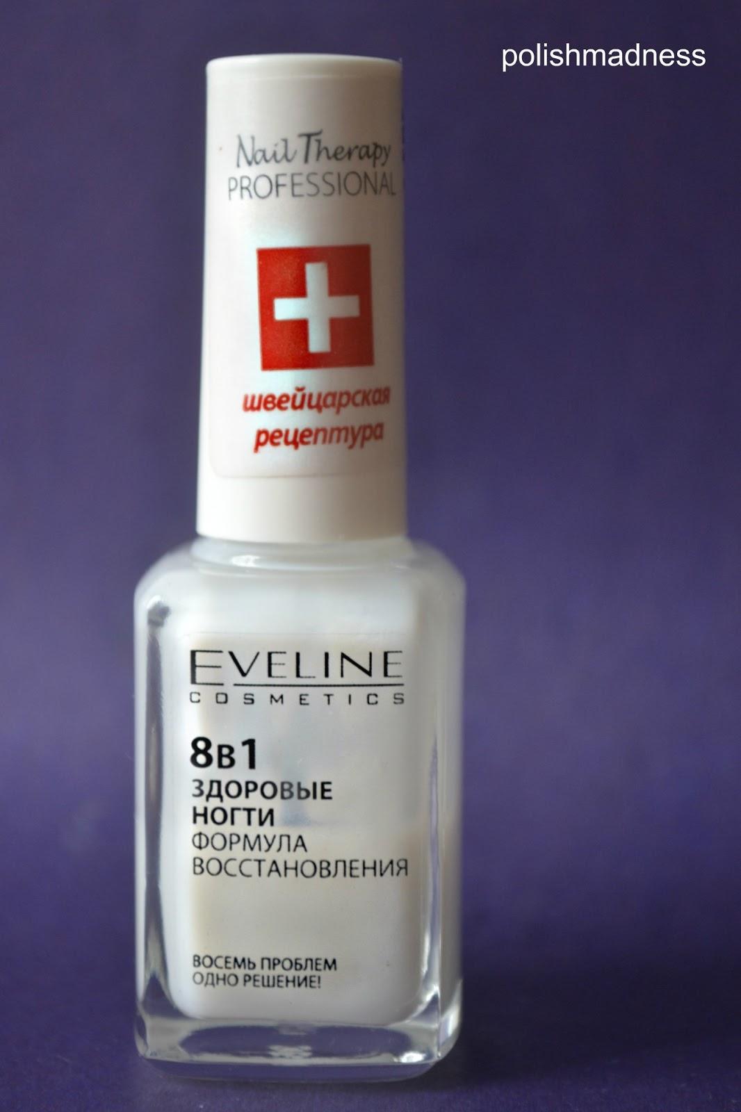 Polish madness: препарат для регенерации ногтей eveline cosmetics \