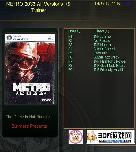 1Metro 2033 Trainer