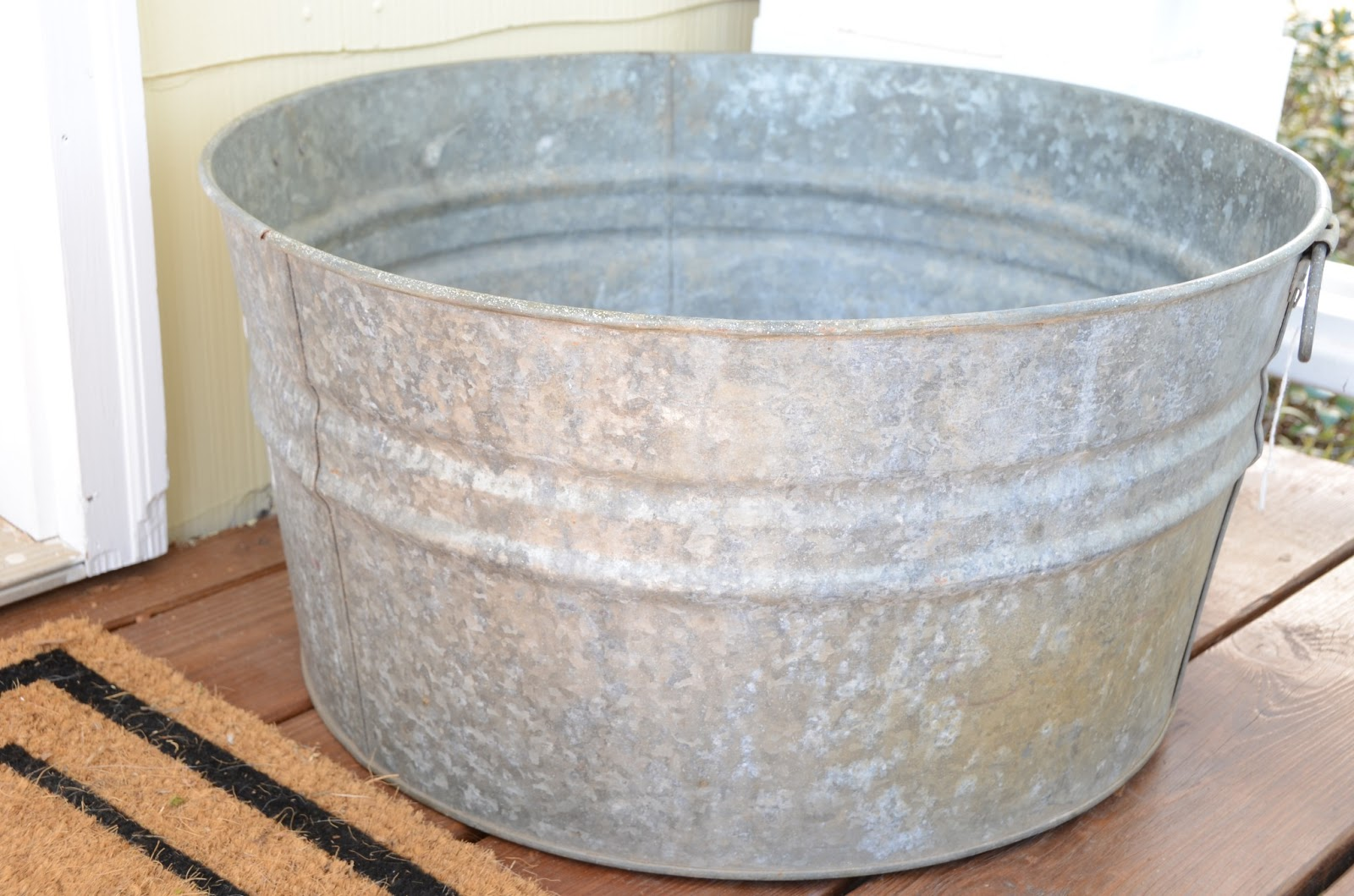 Galvanized Cowboy Bathtub 17 Galvanized Trough Bathtub