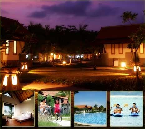 kalianda resort Tempat wisata lampung terbaik