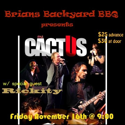 music art vcl cactus live at brian 39 s backyard bbq