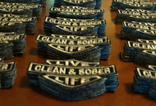 Live Life Clean & Sober Patch