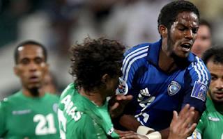 أهداف مباراة الهلال السعودي والشباب الاماراتي 1-1 بتعليق فارس عوض 4-4-2012