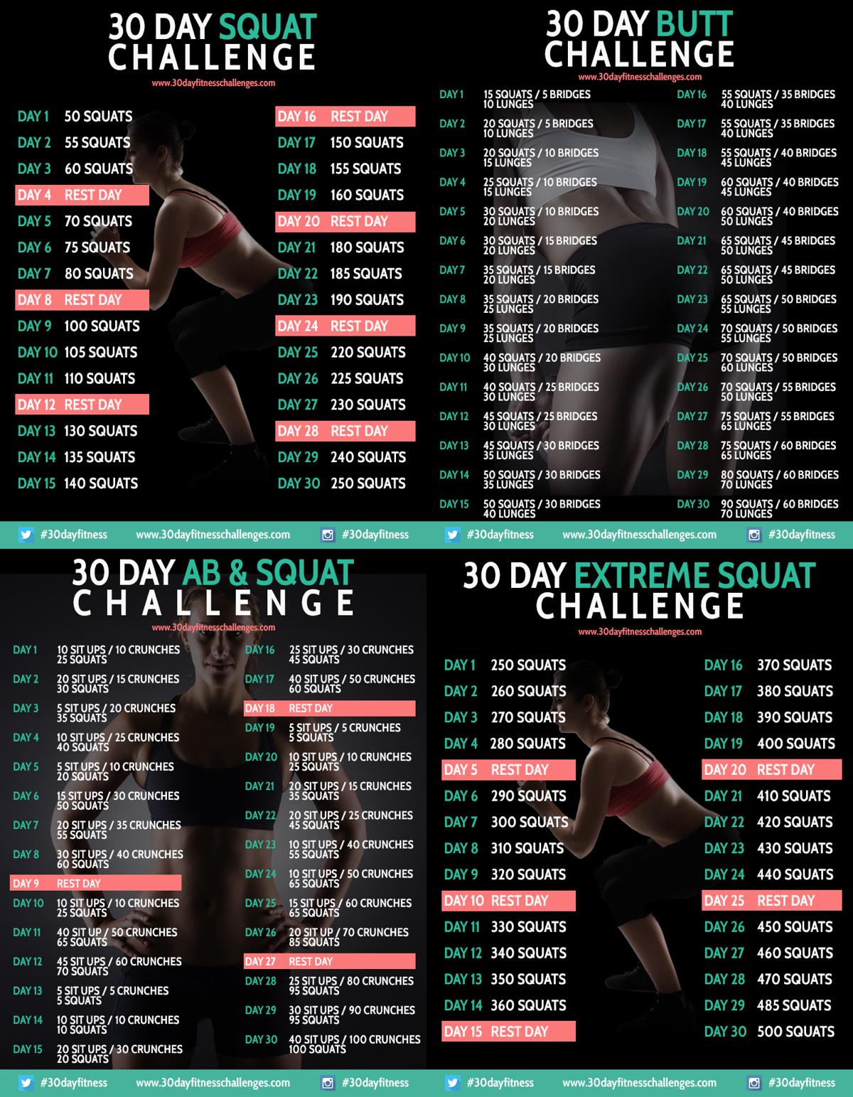 30 day leg challenge pdf