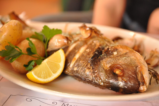 Whitstable Oyster Company roasted sea bream