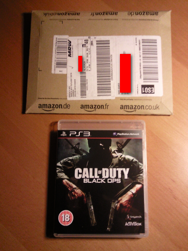 Call of Duty: Black Ops playstation 3 slim ps3 freebiejeebies amazon worldwinner game jogo