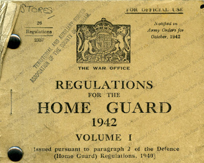 Home Guard Regulations (D/DLI 5/1/1)